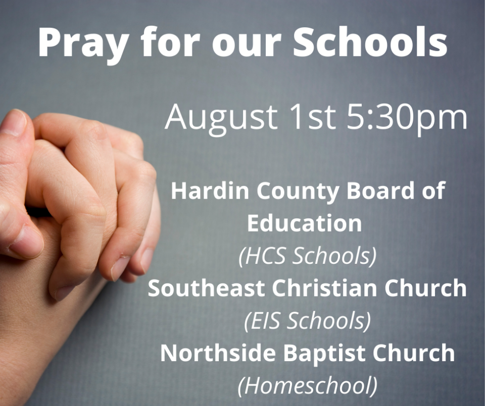 Pray for Our Schools