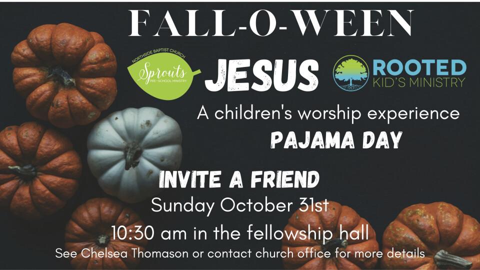 Fall-O-Ween Jesus